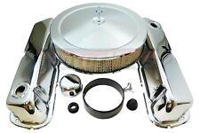 SB Ford Chrome Steel Engine DressUp Kit 260 289 302 351W Air cleaner Valve cover