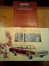 1969 Original Mercury Station Wagons Sales Catalog.