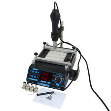 PCB Preheater and Desoldering System with Hot Air Gun Item #CSI853B+
