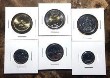 2017 Canada Classic Traditional & Unreleased 6 Coin UNC BU Set!!