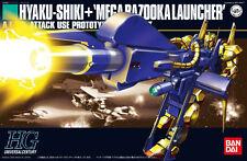 Bandai Gundam 1/144 HGUC Hyaku Shiki + Mega Bazooka Launcher