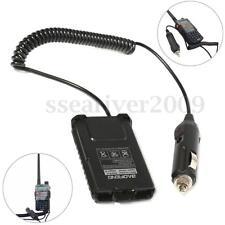 12V Car Charger Radio Battery Eliminator For Baofeng UV5RA Plus two way Radio