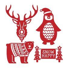 Trimcraft prima edizione in metallo carta artigianale Die Set-Natale Animali
