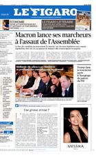 Le Figaro 11.5.2017 N°22628**MACRON marche sur l'ASSEMBLÉE*TRUMP & FBI*AXA*VALLS