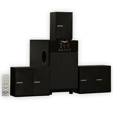 Theater Solutions TS509 Home Theater 5.1 Speaker System Multimedia Surround