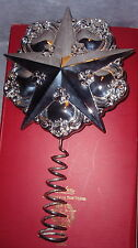 Gorham Chantilly Silver Star Christmas Tree Top Topper Ornament Decoration