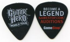 GUITAR HERO World Tour Guitar Pick!!! GameStop Auditions
