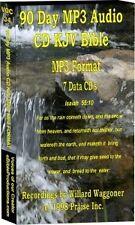 90 Day Devotional  KJV Audio Bible on 7 MP3 CD's 75 Hrs