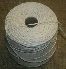 Baumwolle Strick 500g Bindfaden Gartenstrick 350m Wurststrick Makramee Garn neu