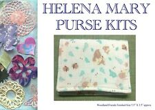 Helena Mary Purse Making Kit Complete Kit - Woodland Friends Purse