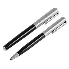 Jos Von Arx - Prestige Black and Silver Pen Gift Set in Presentation Gift Box