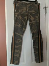 STYLISH Faith Connexion Camuflauge Jeans with Tuxedo Border Size 38
