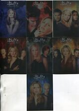 Buffy TVS Ultimate Collection Series 2 Complete 7 Card Season Montage Chase Set