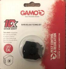 Gamo .177 Cal 10X QUICK-SHOT Magazine W Rapid Fire Technology