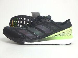 Adidas #38195 Adizero Boston 9 Schuhe Laufen Herren Sneaker Gr. 43 1/3 Schwarz
