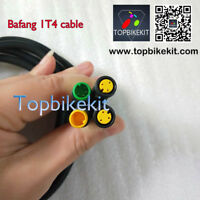 For 8Fun Bafang 1T4 extend cable mid drive motor with waterproof connector Higo
