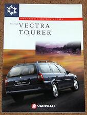 1997-98 VAUXHALL VECTRA TOURER 1.8i 2.0D Sales Brochure - Special Edition Estate