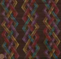 Synthesis brown geometric Michael Miller fabric