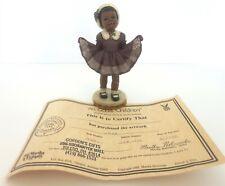 "New ListingAll God'S Children 5.75"" Jane Figurine W/ Coa & Box"