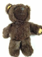 "Shejae Teddy Bear VTG Stuffed 60s 70s Plush Large 16"" Toy Brown Antique Ugly"