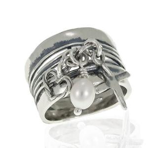 Shablool Sterling Silver 925 Ring Purple Amethyst Friendship Gift Handmade New