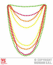 ANNI 80 ANNI Multicolore 4 Collana di perle neon