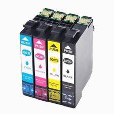 4 cartouches encre  pour Epson WorkForce WF-2860, WF-2860DWF, WF-2865DWF, 502XL