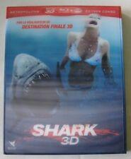 BLU-RAY 3D + DVD - SHARK 3D - Sara PAXTON / Dustin MILLIGAN - David R. ELLIS