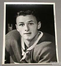 Original Mid 50's Billy Carter Mtl Canadiens photo