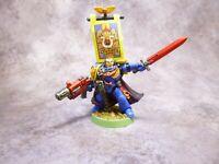 Warhammer 40k Space Marines Ultramarines Captain Metal OOP