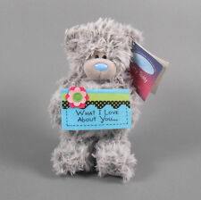 """ME TO YOU 6"""" Gray Tatty Teddy Bear What I Love About You Douglas Cuddle Toys"""
