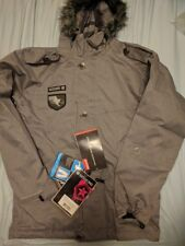 NEW Sessions Recon Herringbone RECCO Ski Snowboard Jacket Military Army Burton S