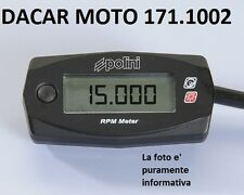 171.1002 COMPTE-TOURS RPM POLINI BETA MOTARD 50 ALU AM6 2003