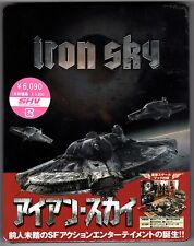 IRON SKY JAPAN BLU-RAY STEELBOOK NEU & OVP SEALED DELUXE EDITION SOLD OUT