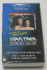 Decipher Star Trek Enhanced Premiere The Trois CCG Sealed NEW