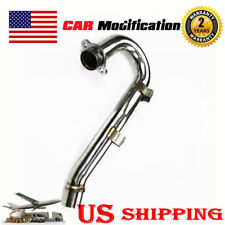 NEW Stainless Steel Exhaust Header Head Pipe For 2006 2007 Honda CRF450R USA