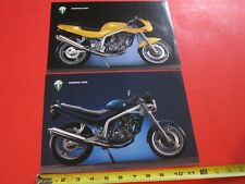 1995 Mz Scorpion Sport and Tour brochures