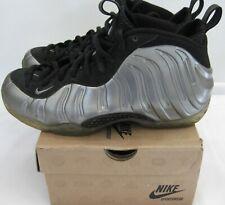 check out b3061 b0e92 Nike Air Foamposite One 314996-004 Silver Metallic Pewter Black Mens Size 9  VGUC