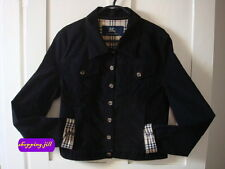 Authentic Burberry  Black Nova Check Unisex Jacket / Coat Children Size 14 Year