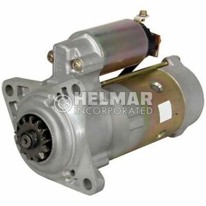 Fits Hyster Forklift Starter 2021166-NEW Straight Drive :No Gear Reduction Yes