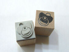 Motivstempel Stempel Schnuller Nuckel 20x20mm Basteln  Kartengestaltung