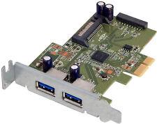 HP USB 3.0 SuperSpeed Low Bkt PCIe Card New HI343-1LP Rev 3.2 609885-001