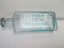 VICTORIAN  SKIN  CREAM  BOTTLE  FROM  CHELTENHAM  CIRCA  1890