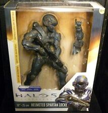 "Halo 5 Guardians HELMETED SPARTAN LOCKE New! 10"" Action Figure"