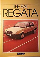 FIAT REGATA 1984 Sales Brochure