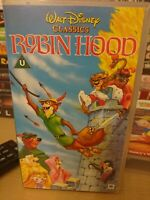 Walt Disney Classics Robin Hood VHS Video Tape
