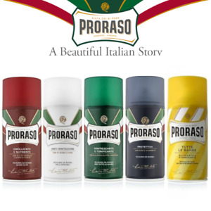 Proraso Shave Foam 50/100/300 ml, Nourish, Refresh, Sensitive, Aloe, Cocoa