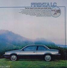 GT 1986 Car Sales Brochures