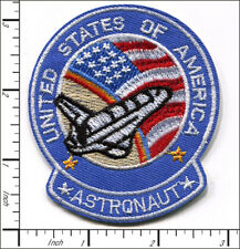20 Pcs Embroidered Iron on patches USA Astronaut Space Shuttle AP038fC