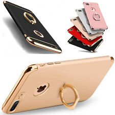 iPhone 7 / 7 Plus 6 Case, Luxury Metal Finger Ring Holder Stand Cover For Apple